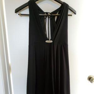 Black dressy bubble dress